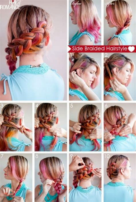hairstyles for long hair step by step instructions simple hairstyles step by step guide hairstyles ideas