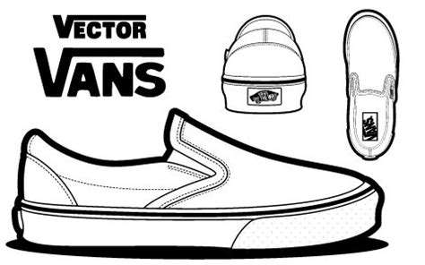sneaker design template vans blank canvas advanced early