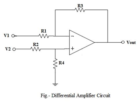 integrated circuit differential lifier op differential lifier circuit voltage subtractor