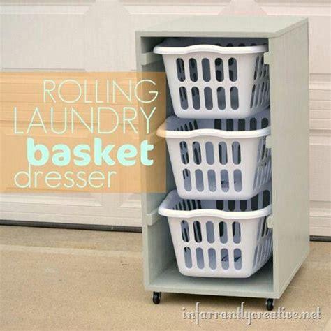 Rolling Laundry Basket Dresser rolling laundry basket dresser d i y