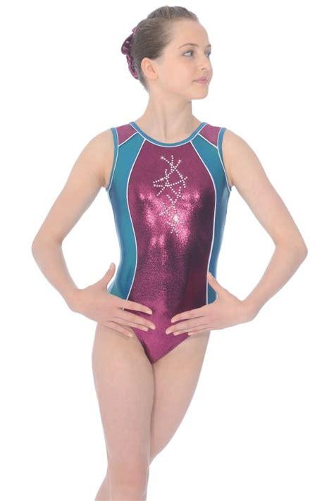 young girl gymnastic leotard models diamond sleeveless gymnastics leotard the zone