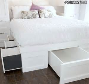 8 Diy Storage Beds To Add Space And Organization To by Diy Storage Bed Plans Decoist