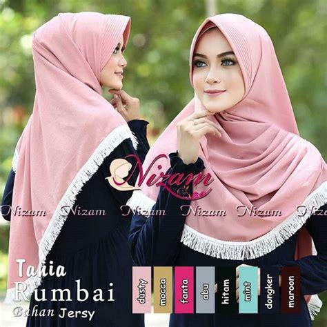 model terbaru 2017 jilbab instan tania rumbai bundaku net