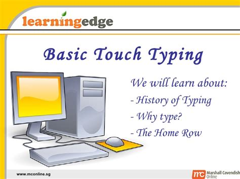 touchtyping01 intro home row