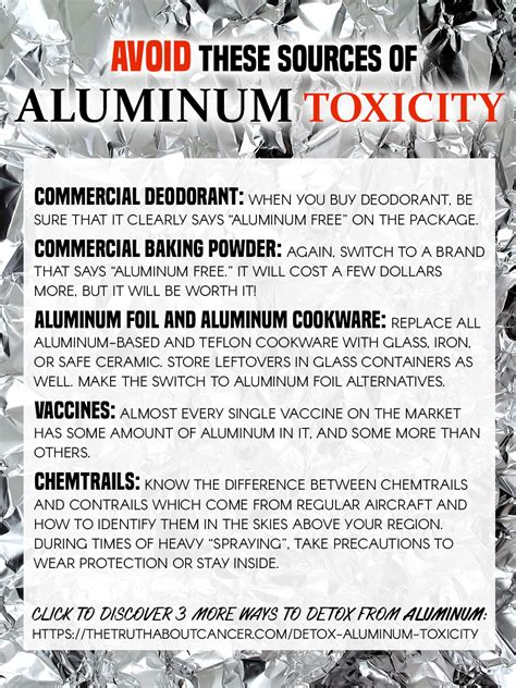 Aluminum Toxicity Detox by Aluminum Toxicity 4 Ways To Detox Your Brain