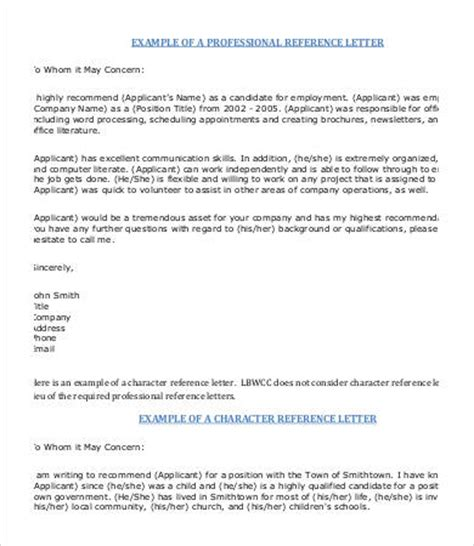 Personal Reference Letter Template 7 Free Word Pdf Documents Download Free Premium Templates Personal Reference Letter Template