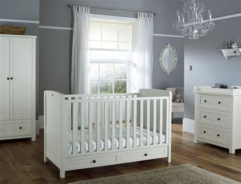 Baby Boy Nursery White Furniture Thenurseries Nursery Furniture Sets Ikea