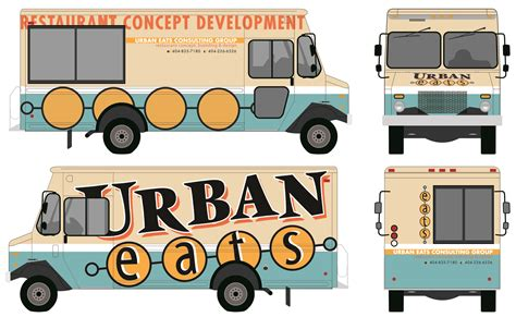 truck wrap templates food truck autward design food truck wrap template