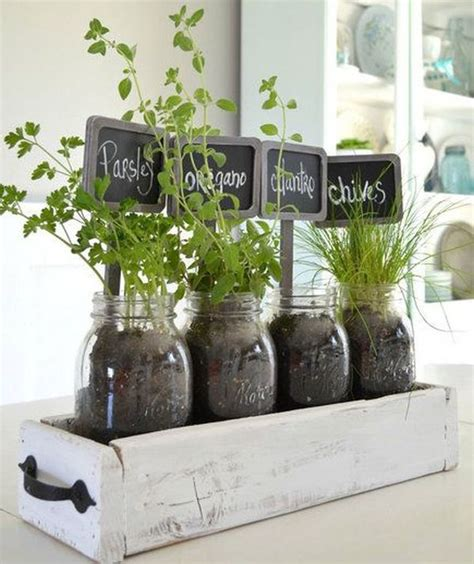 ideas  styling  home  indoor herb gardens