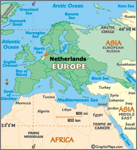 Holland World Map by Netherlands Map Geography Of Netherlands Map Of