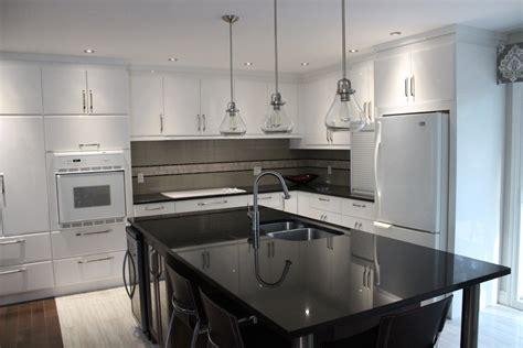 lustre cuisine armoires de cuisine en polym 232 re blanc lustr 233 cuisines despro