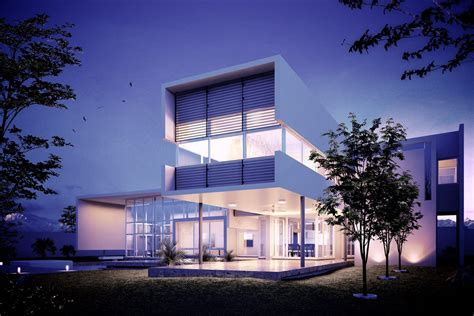 image house tutorial making of 3d uro house render 3d architectural