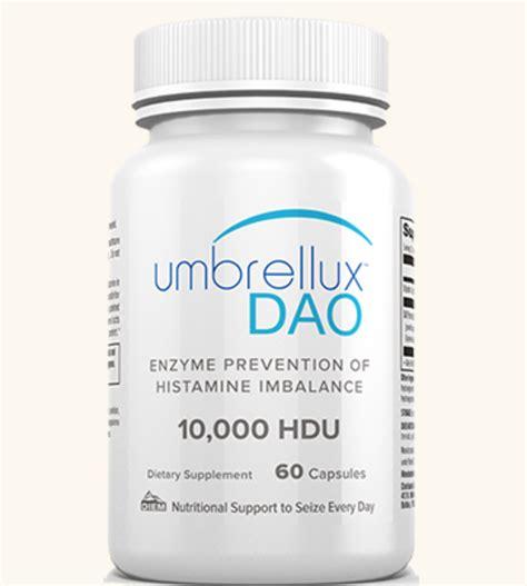 supplement of dao umbrellux dao diamine oxidase 10 000 hdu the nutrition