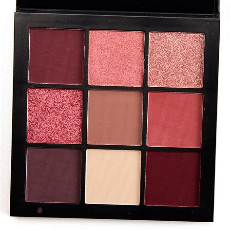 Eyeshadow Huda huda mauve obsessions eyeshadow palette review photos swatches temptalia howldb
