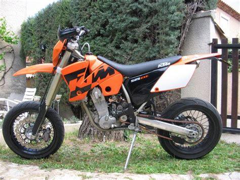 Ktm 525 Supermotard Moto Supermotard Ktm 525 Exc Motocustom