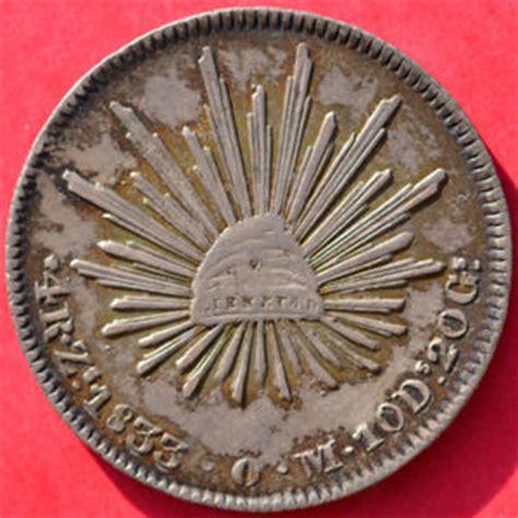 valor de monedas mexicanas antiguas coleccionismo valor monedas mexicanas de 4 reales coleccionismo