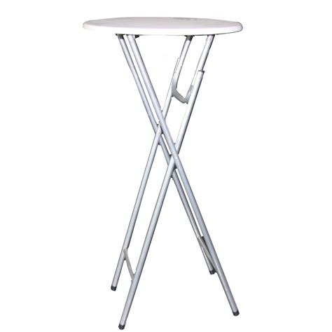 Drop Leaf Bistro Table Bistro Table 216 60cm Bar Collapsible White Drop Leaf Partytisc Ebay