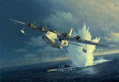 flying boat jet fighter short sunderland hit one for the good guys fighter
