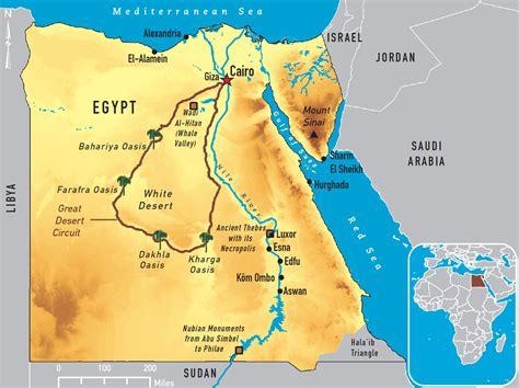 middle east map nile river 196 gypten fluss karte