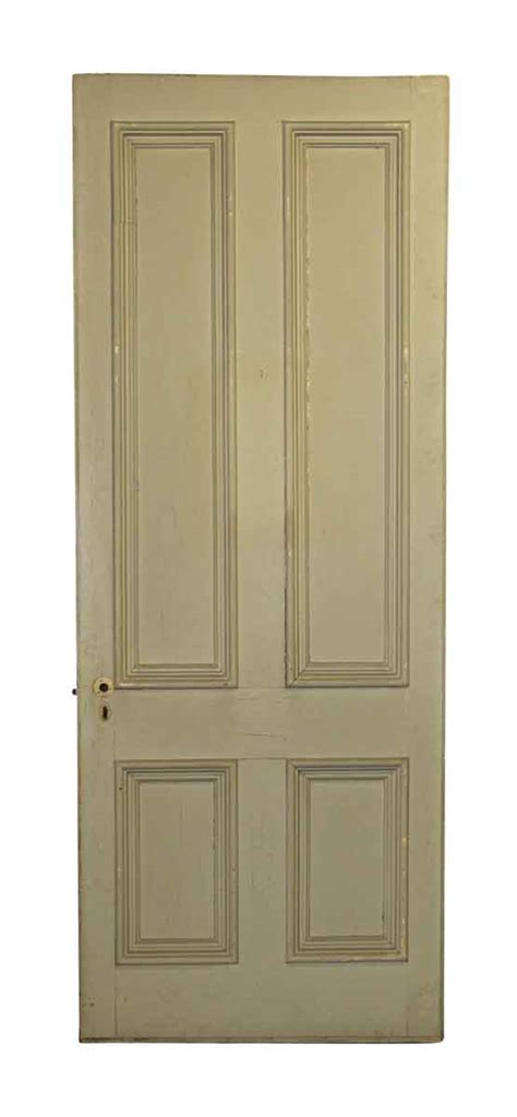 Four Panel Tall Wide Entry Door Olde Good Things 4 Panel Exterior Door