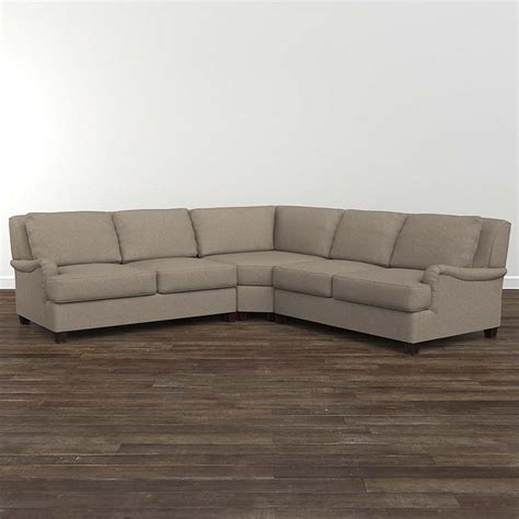 small l shaped sectional designer comfort bridgewater small l shaped sectional