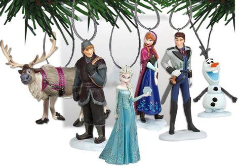 disney frozen christmas tree ornament set