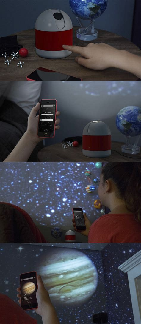 bedroom planetarium sleeping under the stars luna a smartphone enabled