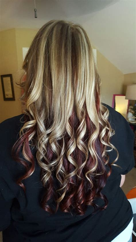 blonde and burgundy high and low lights for short ladies hairstyles 25 best ideas about blonde low lights on pinterest light blonde highlights low lights and