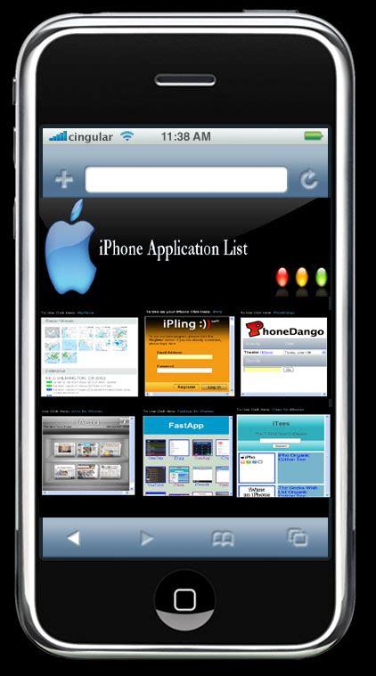 iphone list iphone applications list 187 coolest gadgets