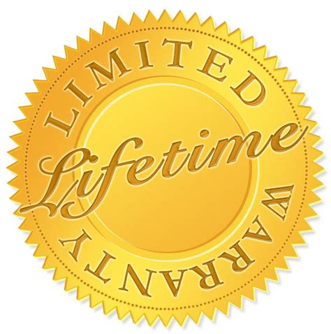 lifetime warrenty limited lifetime warranty