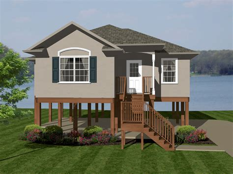 home plans and more lilac waterfront ranch home plan 069d 0110 house plans