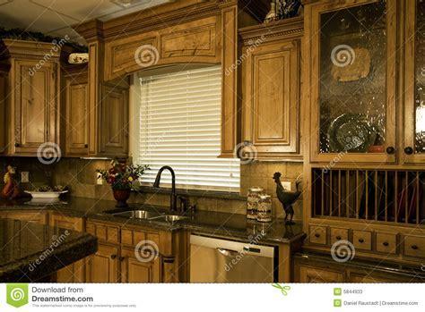 Organized Luxury Kitchen Stock Photos   Image: 5844933