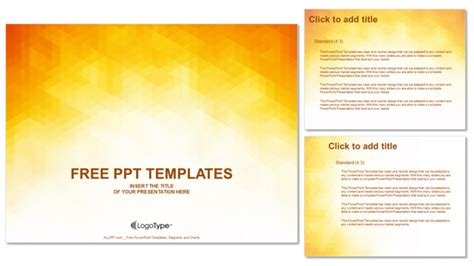 powerpoint themes free download orange orange abstraction design powerpoint templates