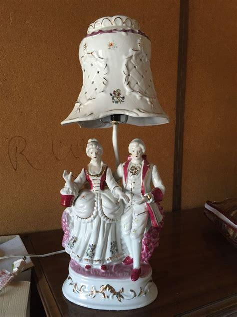 handpainted porcelain figurine with porcelain