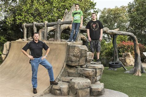 Backyard Ninja Warrior Plans landscaping for kids parents want playscapes with zip