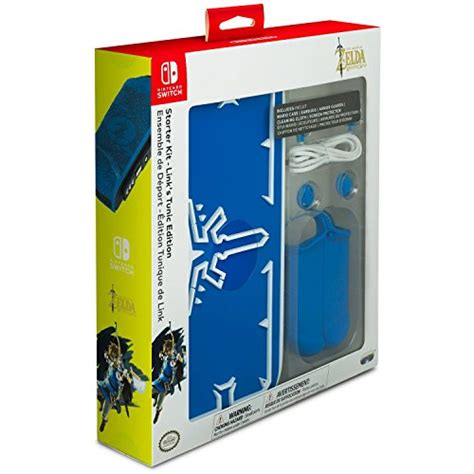 Switch Hori Breath Of The Stater Kit nintendo switch breath of the starter kit with travel screen protector con