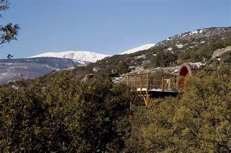 casas en los arboles casas en los 225 rboles cerca de madrid monte