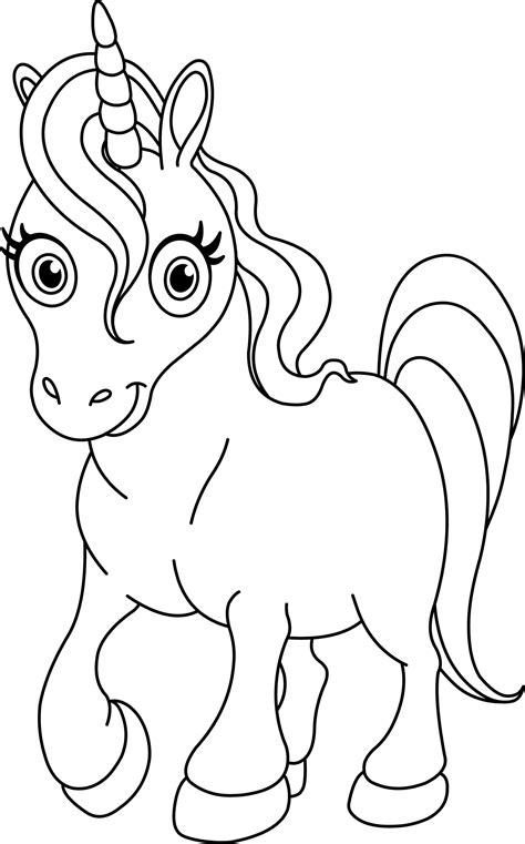 coloring pages of baby unicorns pay attention for this explanation to do the unicorn