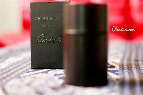 Parfum Ariel Impulse Exclusive review ariel impulse homme eau de parfum ola aswandi