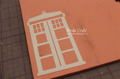 create custom rubber st make your own rubber st tardis pattern doctor who