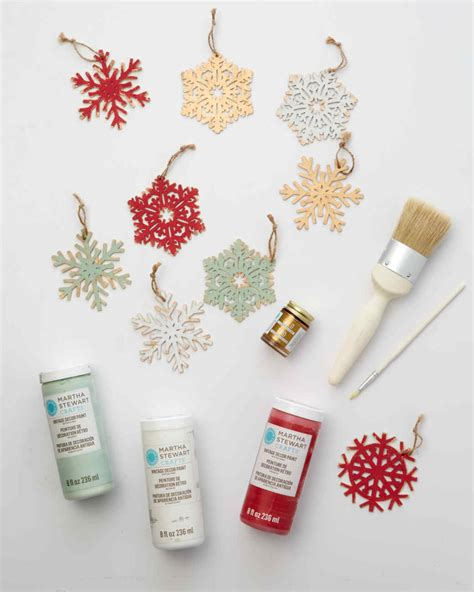 martha stewart crafts ornaments vintage looking snowflake ornaments martha stewart