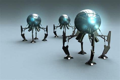 super realistic 3d robot illustrations designzzz