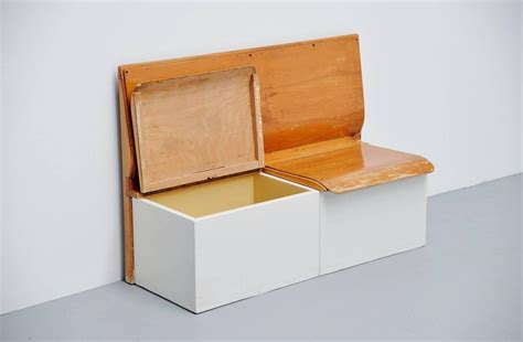 piet zwart bruynzeel laundry bench holland 1950 at 1stdibs