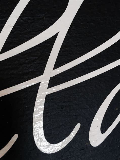 Letters Vinyl