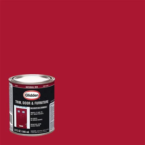home depot kamloops paint glidden trim and door 1 qt national gloss interior