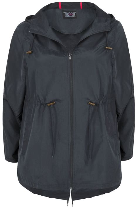 Pocket Parka Parka navy pocket parka jacket with plus size 16 to 36