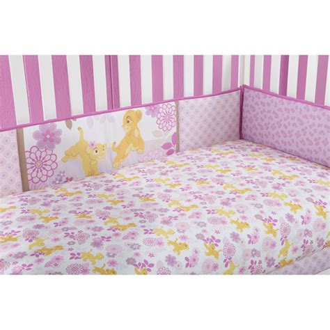 King Crib Comforter by Disney Baby Bedding King Nala Crib Bumper Walmart