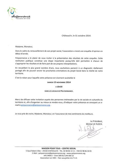 Exemple De Lettre D Invitation Pour Reunion Rtf Lettre Invitation Reunion
