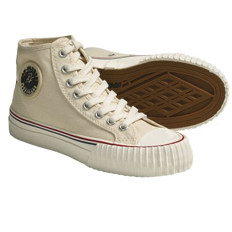 hi top canvas sneakers pf flyers center hi reissue high top sneakers canvas