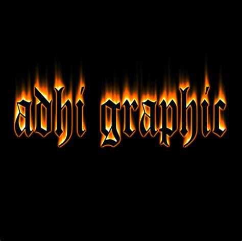 membuat video efek api membuat teks efek api pada photoshop adhi graphic